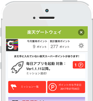 アプリごとに多彩な施策3