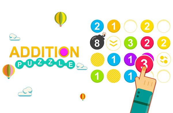 Addition Puzzle - 足し算 パズル -